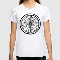 Ride Womens Fitted Tee Ash Grey SMALL