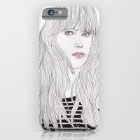 Pastel Girl 1 iPhone 6 Slim Case