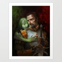 Condemned By Fire Art Print