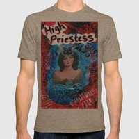 High Priestess Mens Fitted Tee Tri-Coffee SMALL