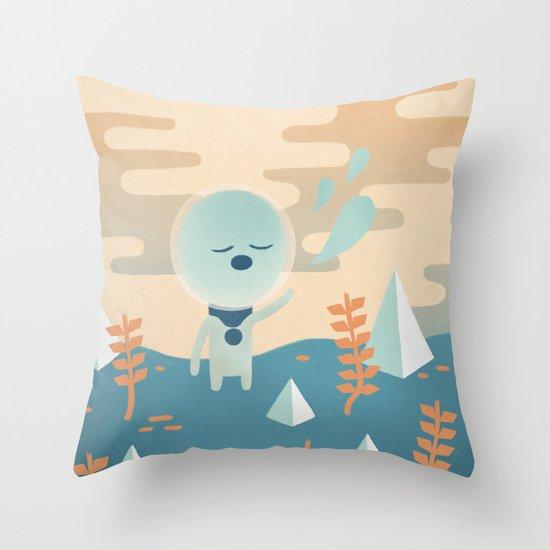Space Traveler Throw Pillow
