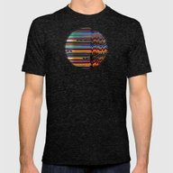 Seismic Mens Fitted Tee Tri-Black SMALL