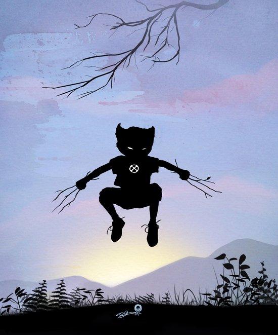 Wolverine Kid Canvas Print