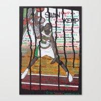 NBA PLAYERS - Shawn Kemp Canvas Print