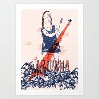 Gardunha Fest Poster Art Print