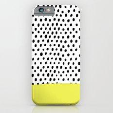 Polka Dot Rain Dip iPhone 6 Slim Case