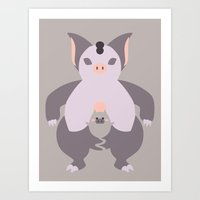 Pocket Monster 325 And 3… Art Print