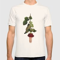 Blind Date Mens Fitted Tee Natural SMALL