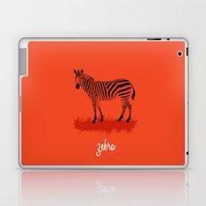 4-Legged Exotica Series: Zebra Laptop & iPad Skin