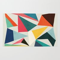 Collection Of Pointy Sum… Rug