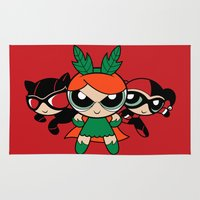 Supervillain Girls Rug