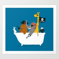 Everybody Wants To Be Th… Art Print