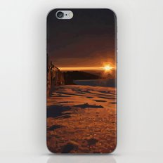 Sunrise Sets iPhone & iPod Skin