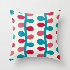 Like a Leaf [colours] Throw Pillow