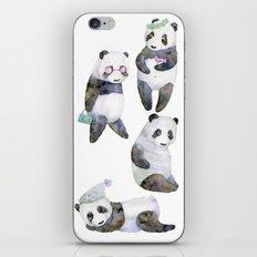 life panda iPhone & iPod Skin