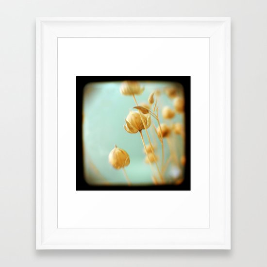 Seafoam Framed Art Print