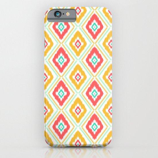 Zig Zag Ikat (white) iPhone & iPod Case