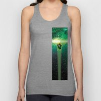 Super Bears - ACTION! the Green One Unisex Tank Top