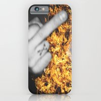 iPhone & iPod Case featuring FUCK by Troy Spino