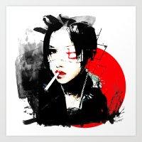 Shiina Ringo - Japanese … Art Print