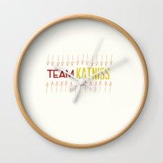 Team Katniss Wall Clock