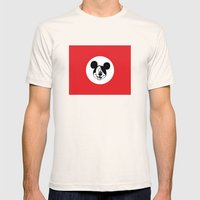 Genosse Mouse Mens Fitted Tee Natural SMALL