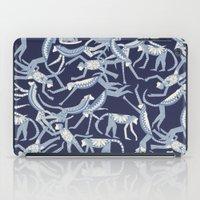 Monkey Blue iPad Case