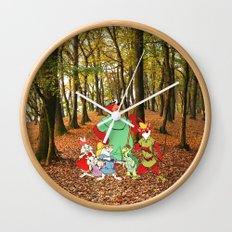 Robin Hood and the Gang Wall Clock
