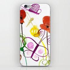 Flower garden iPhone & iPod Skin