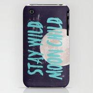 Stay Wild Moon Child iPhone (3g, 3gs) Slim Case