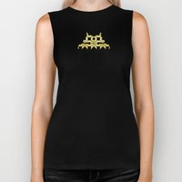 Golden Snow Biker Tank