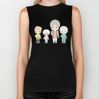 Girls in their Golden Years Biker Tank