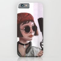 iPhone & iPod Case featuring Mathilda by niko_O