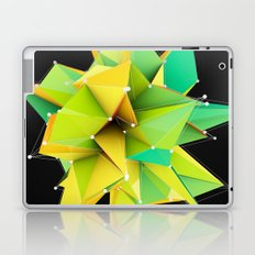 Polygons green Abstract Laptop & iPad Skin