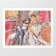 Art Print featuring Mikasa Attack On Titan by Meomeo