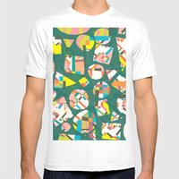 Schema 20 Mens Fitted Tee White SMALL