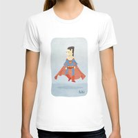 superman T-shirts featuring Superman by Popol