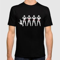 a Rebel Since She Was Young - US AND THEM Mens Fitted Tee Black SMALL