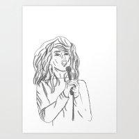 Blondie Art Print