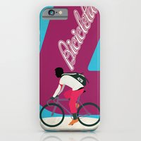 iPhone & iPod Case featuring Cycling by Carlos Hernandez