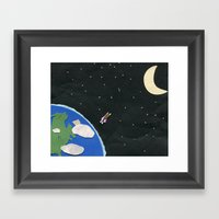 High Aspirations Framed Art Print