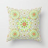 Mandala Mandala II Throw Pillow