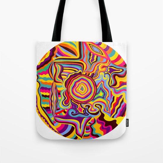 The Dancing Colors Tote Bag