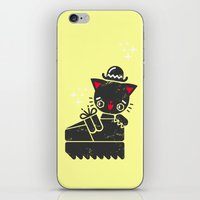 Cat In Platform Shoe iPhone & iPod Skin