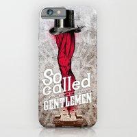 iPhone & iPod Case featuring gentlemen by matto