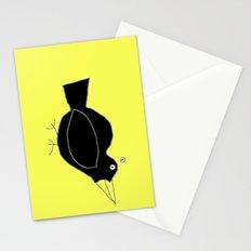 meg's crow Stationery Cards