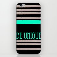 Be Unique iPhone & iPod Skin