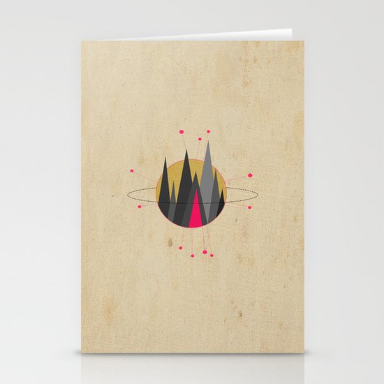 GET LOST Stationery Card