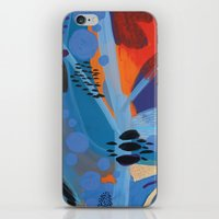 iPhone & iPod Skin featuring Drops II by Milanesa