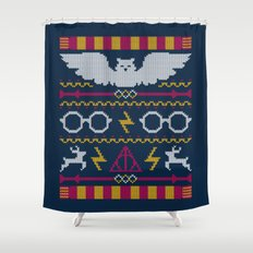 The Sweater That Lived Shower Curtain